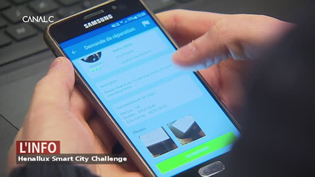 Henallux Smart City Challenge: Des étudiants créent des applications.
