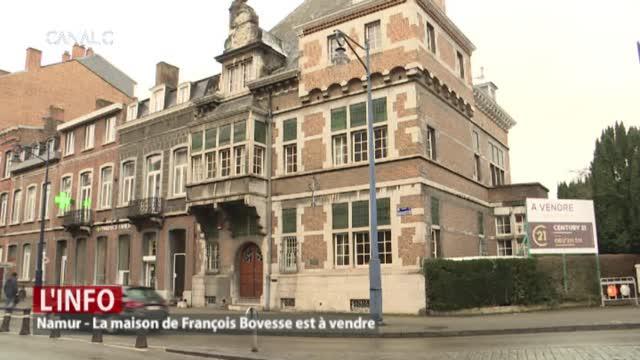 La maison de François Bovesse, située avenue Cardinal Mercier, à Salzinnes, est à vendre. Une maison empreinte d'histoire. C'est là que François Bovesse a été assassiné il y a exactement 75 ans.