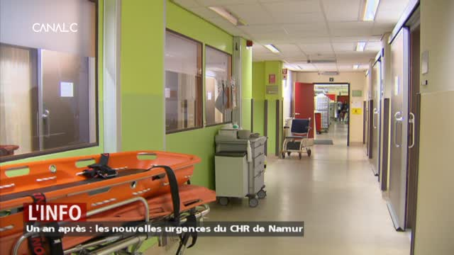Un an après : les nouvelles urgences du CHR de Namur