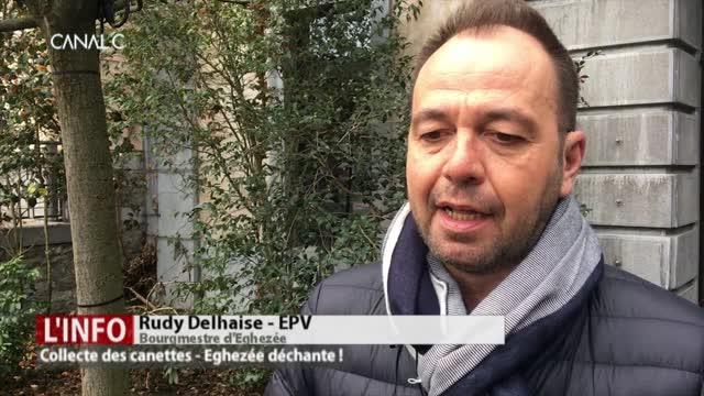 Projet pilote: Eghezée renonce à la collecte des canettes