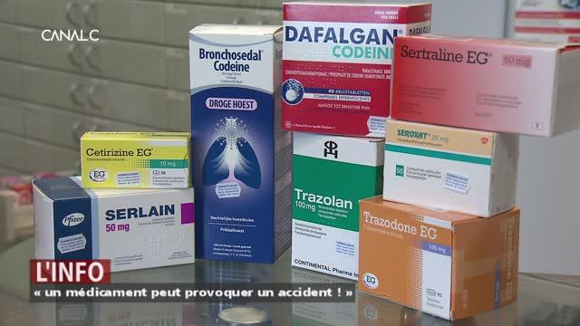 Campagne de sensibilisation : « un médicament peut provoquer un accident ! »