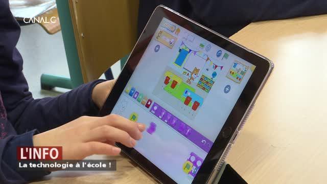 La technologie à l'école !