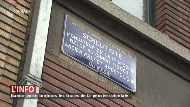 Une visite guidée à Namur pour déconstruire la propagande coloniale