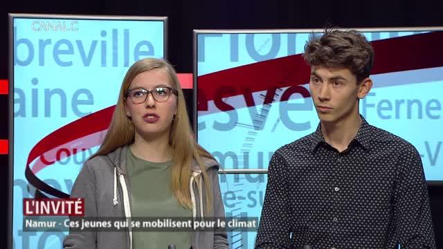 Les invités: Louise Rosoux et Alexis Cima