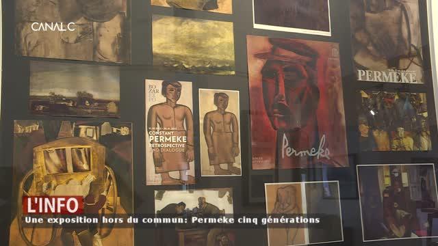 Une exposition hors du commun: Permeke cinq générations