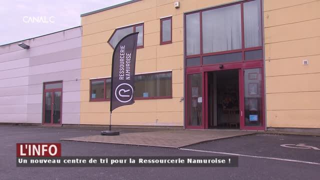 Un nouveau centre de tri pour la Ressourcerie Namuroise en 2020 !
