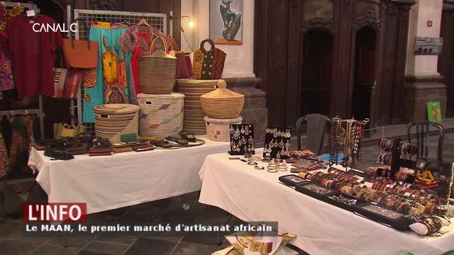 Namur: Le MAAN, le premier marché d'artisanat africain