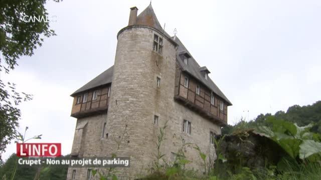 Non au projet de parking à Crupet