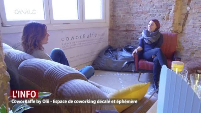 CoworKaffe by Olii, un espace de coworking décalé et éphémère