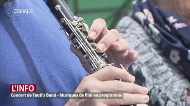 Tauti's Band, l'harmonie qui joue des musiques de films