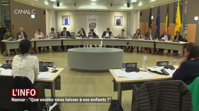 Climat: Quel Namur voulez-vous laisser à vos enfants?