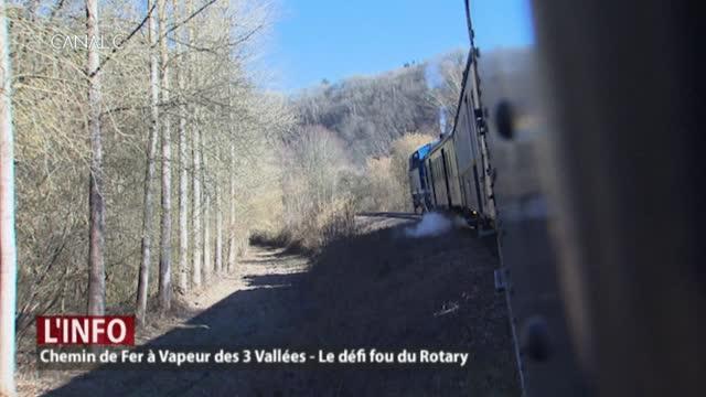 Un défi fou dans un train à vapeur