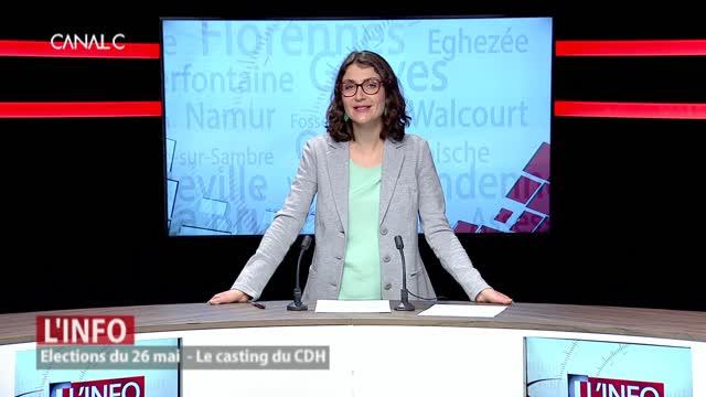 Le casting du CDH pour les élections du 26 mai
