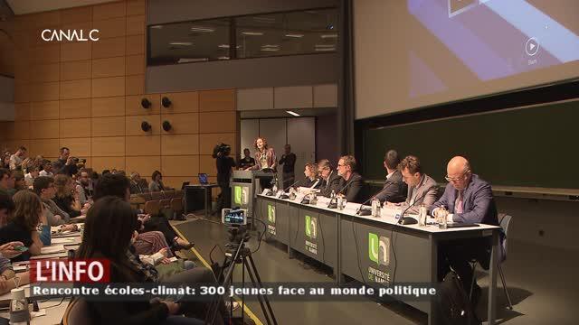 Rencontre « climat-écoles » : des jeunes de l'ITN préparent leurs questions !