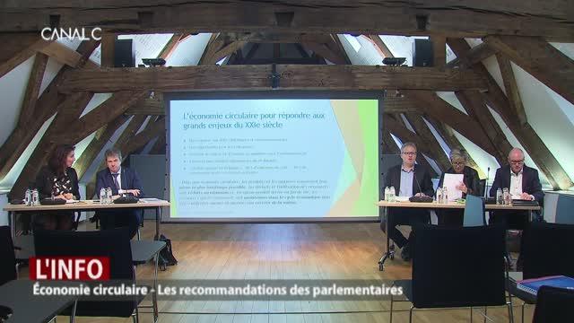 Économie circulaire: les recommandations des parlementaires