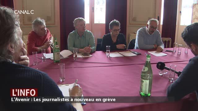 L'Avenir : 3 journalistes licenciés. Le personnel part en grève !