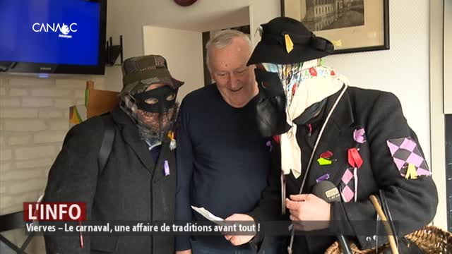Vierves – Le carnaval, une affaire de traditions avant tout !