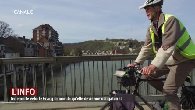 Indemnité vélos : le gracq veut qu'elle devienne obligatoire !