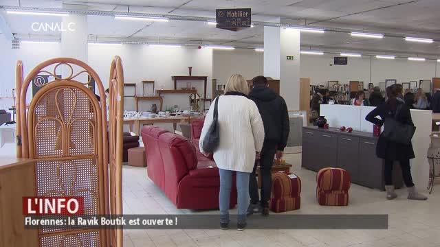Florennes: la Ravik Boutik est ouverte !