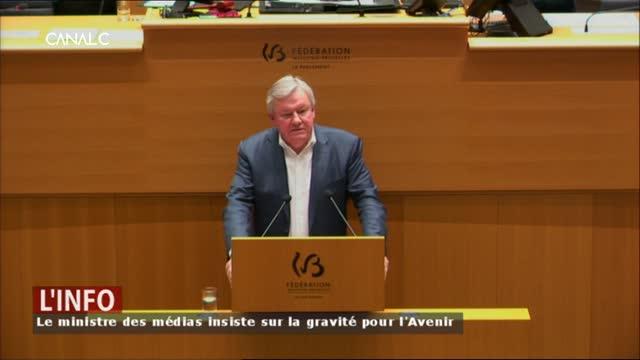 Le conflit à l'Avenir en débat au parlement de la Fédération Wallonie-Bruxelles