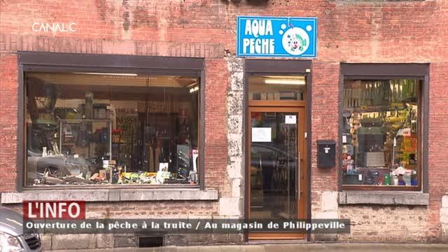 Philippeville - Elle vend des articles de pêche depuis 40 ans !