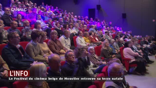 Le Festival du cinéma belge de Moustier retrouve sa terre natale!