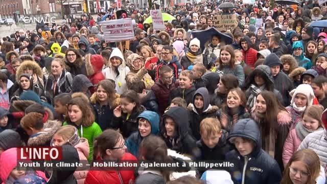 Youth for climate – À Philippeville aussi ils se mobilisent pour le climat