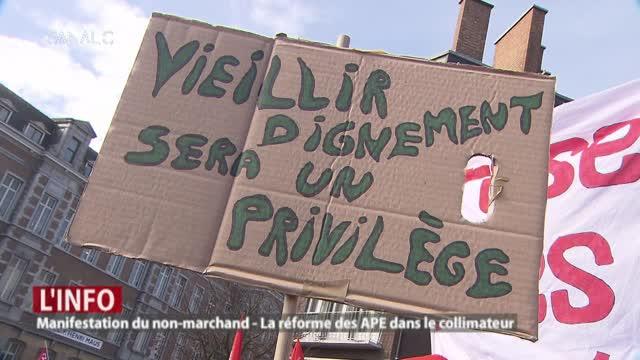 10.000 manifestants contre la réforme APE !