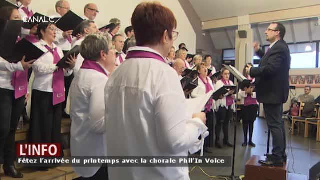 Philippeville – Fêtez l'arrivée du printemps avec la chorale Phil'In Voice
