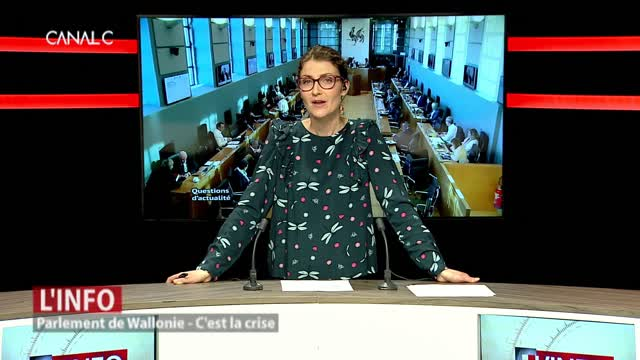 Situation tendue au Parlement de Wallonie