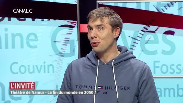 L'invité: Alexandre Dewez, comédien