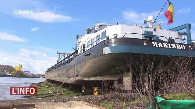 Le chantier naval Sambre et Meuse investit pour l'avenir