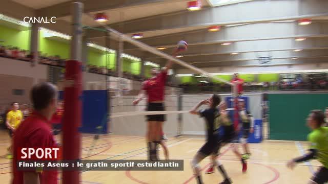 Aseus, les finales des championnats sportifs universitaires.