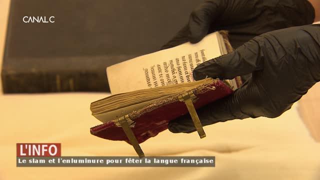 Namur - Un atelier slam et enluminure pour la Fête de la langue française