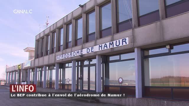 Aérodrome de Namur: le BEP contribue à son envol !
