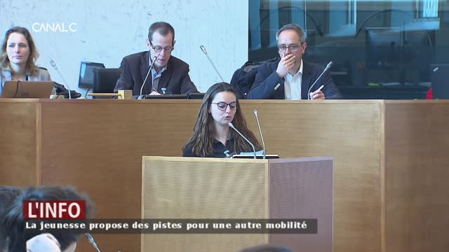 Le Parlement Jeunesse s'intéresse à la mobilité