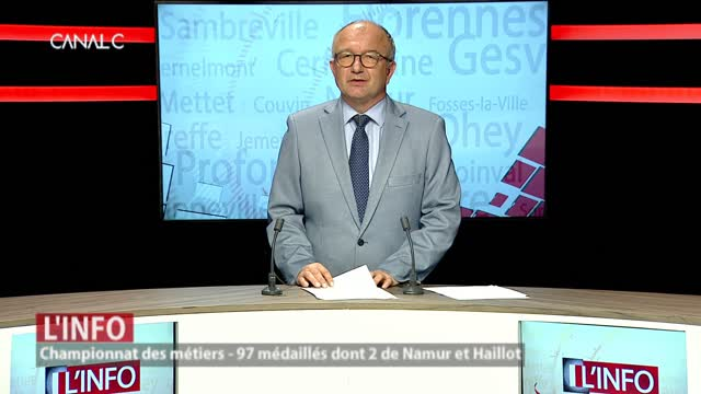 Championnat des métiers: 97 médaillés dont 2 de Namur et Haillot