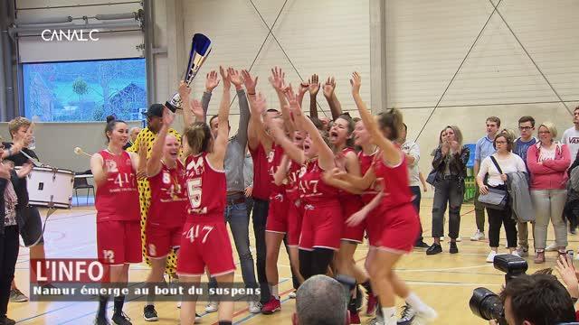 Basket: Namur remporte la Coupe dans la douleur