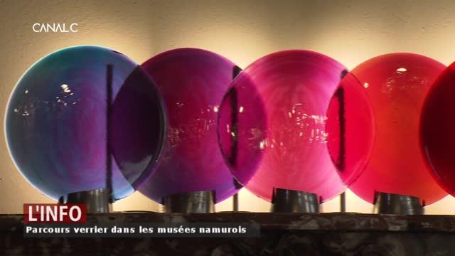 """""""Eclats du verre"""", une exposition sur le verre namurois"""