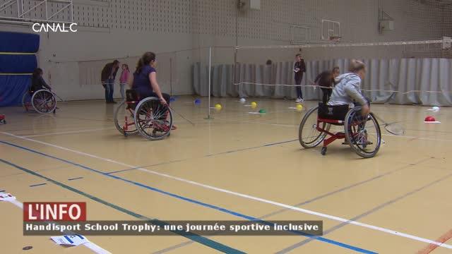 Handisport School Trophy: une journée sportive inclusive