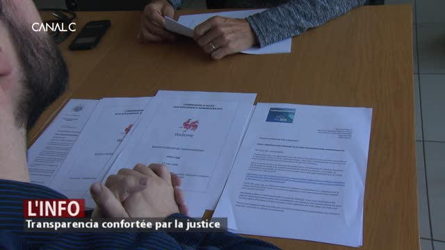 Namur perd son procès contre l'association Transparencia