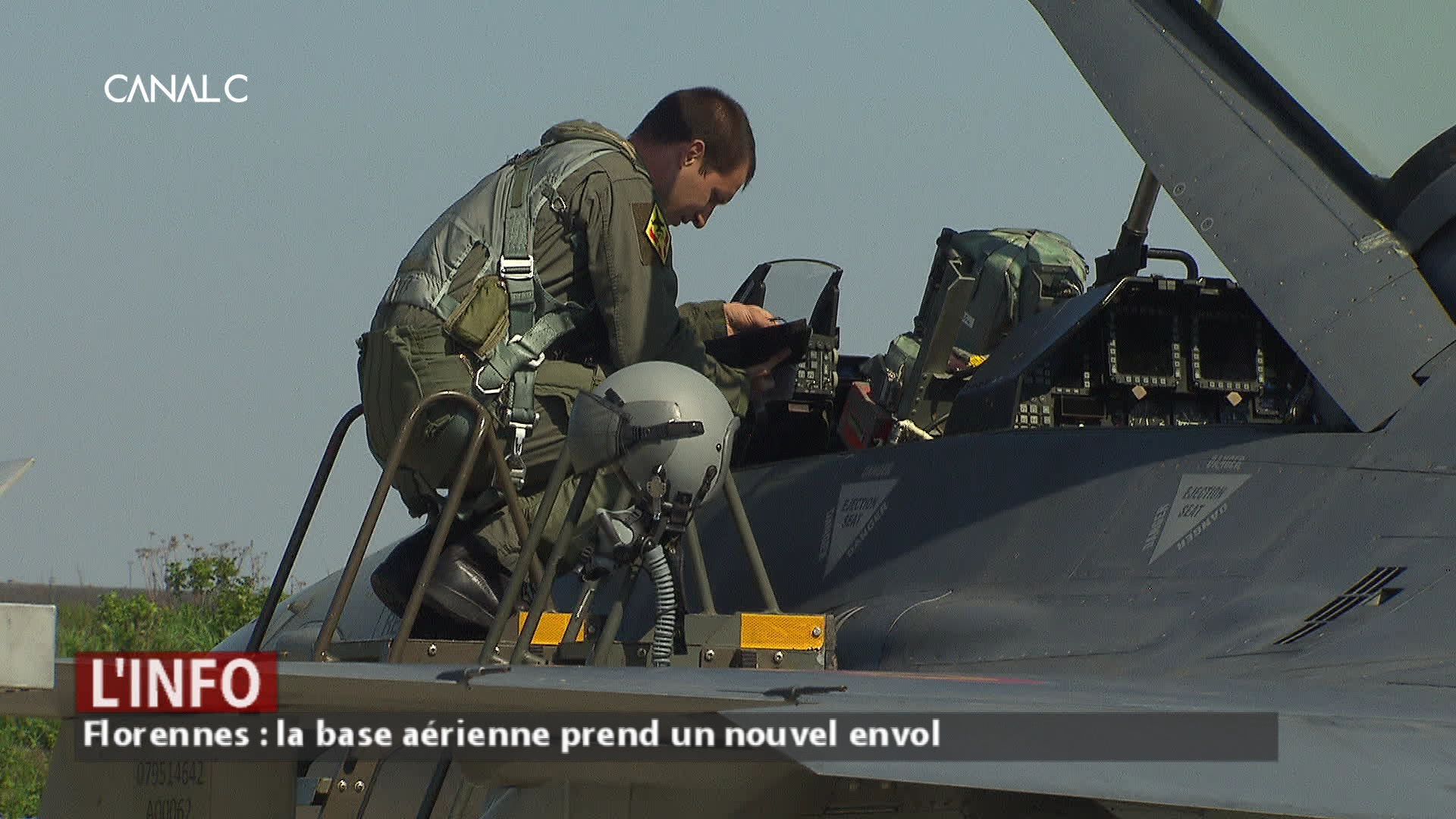 La base aérienne de Florennes investit et recrute !