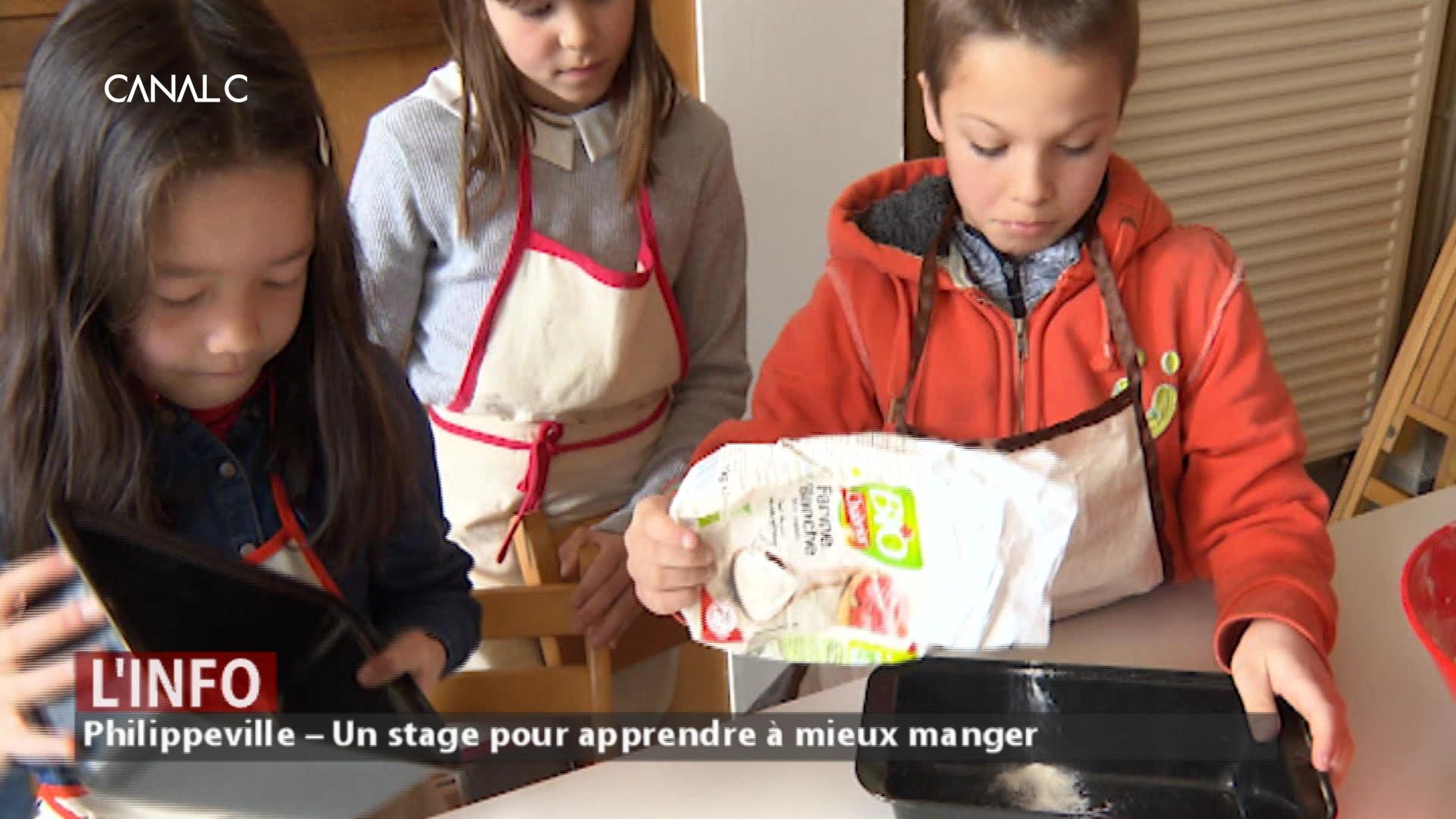 Philippeville – Un stage pour apprendre à mieux manger