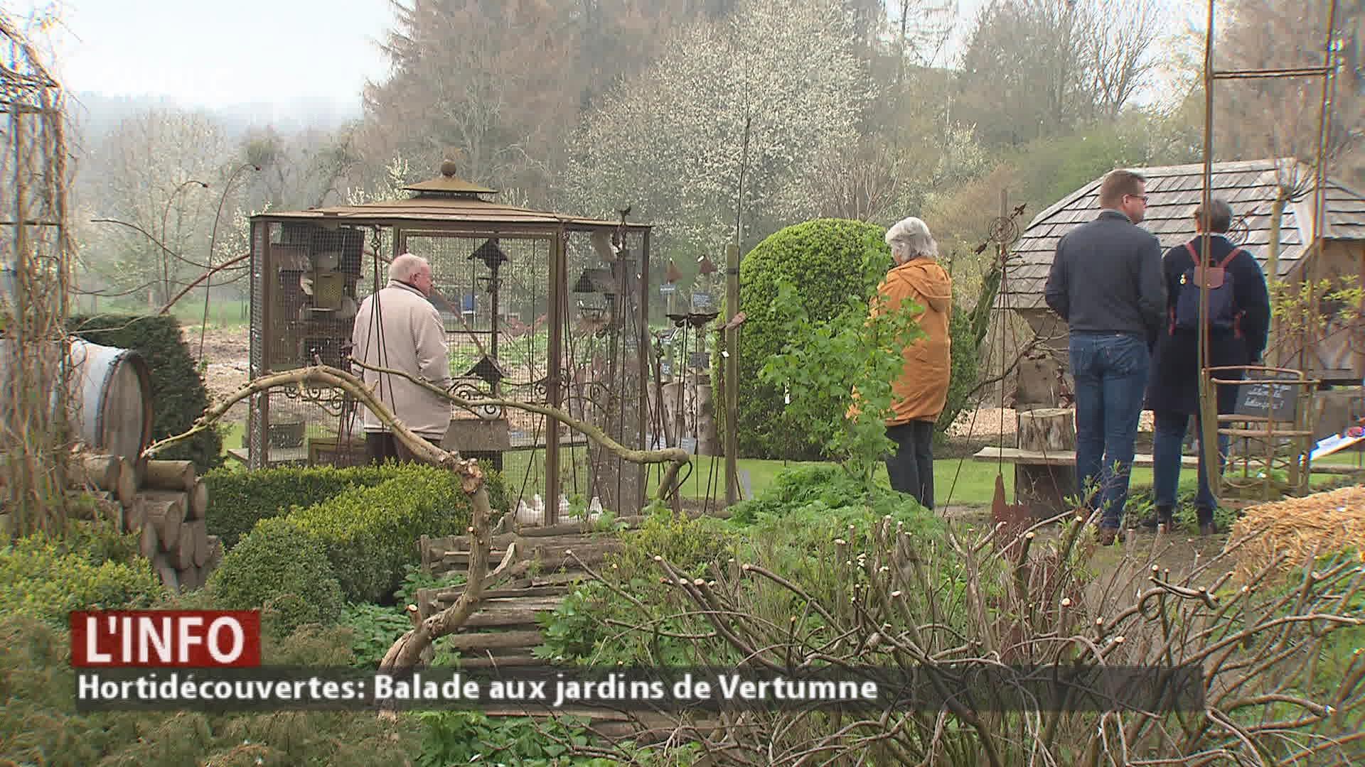Hortidécouvertes: Visite des jardins de Vertumne