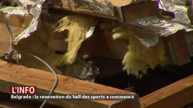 Coup d'envoi pour la rénovation du hall des sports de Belgrade