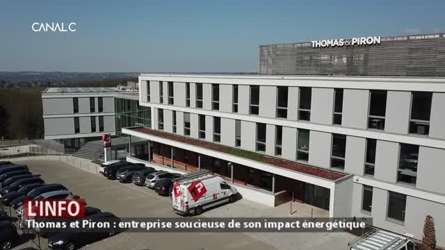 Bâtiment zéro énergie: la société Thomas et Piron montre l'exemple