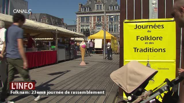 Namur - Folknam: 23ème journée de rassemblement