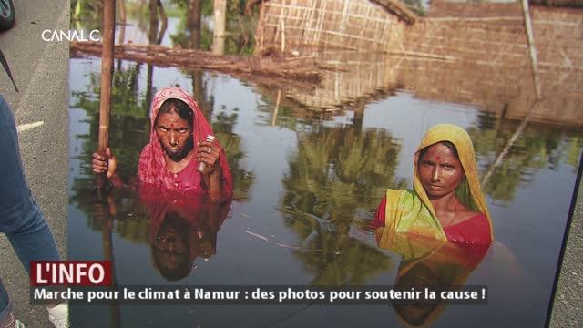 Marche pour le climat à Namur : des photos pour soutenir la cause!