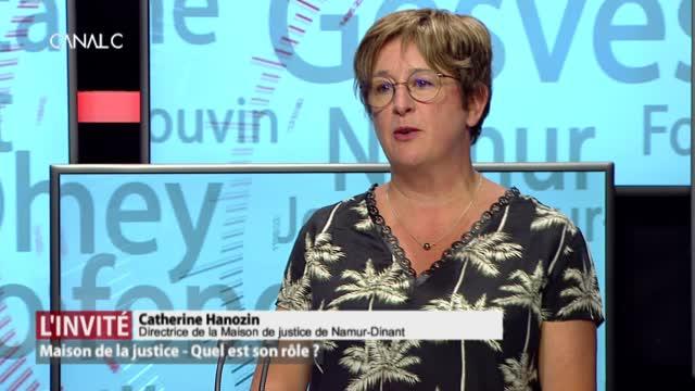 L'invitée: Catherine Hanozin