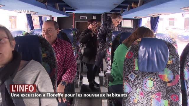 Floreffe - Une excursion pour les nouveaux habitants